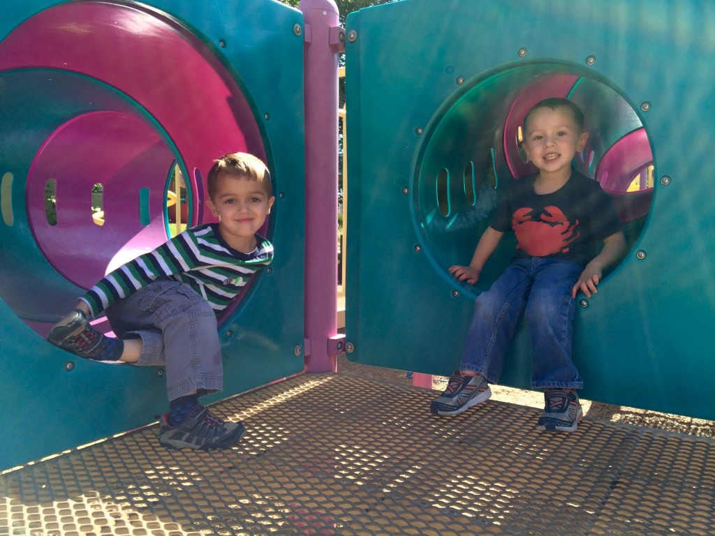 Outdoor Play at Noah's Ark Playground