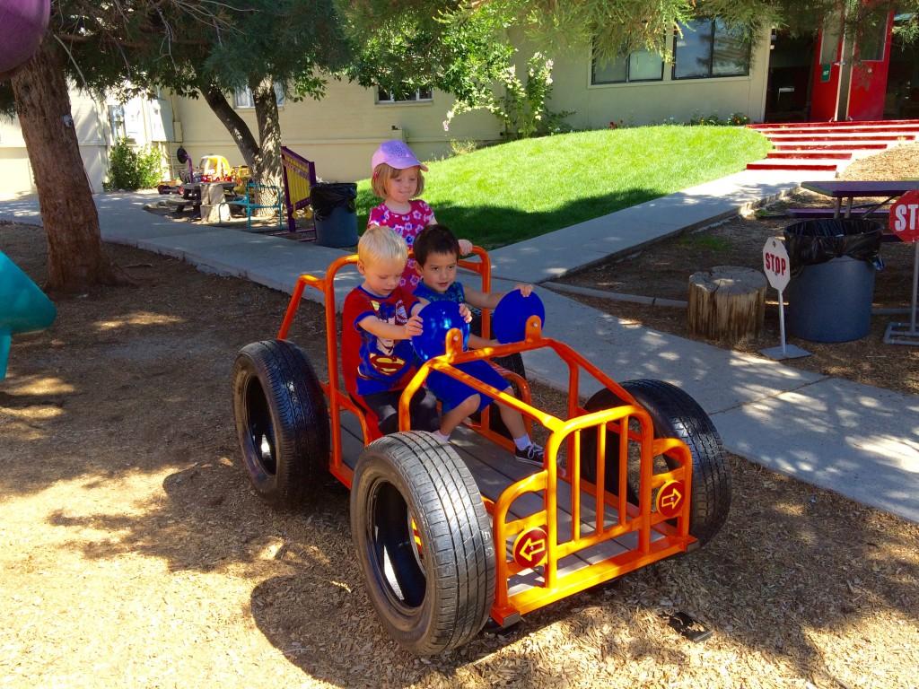 Outdoor Play at Noah's Ark