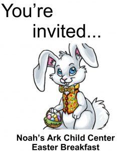Noah's Ark Easter Breakfast