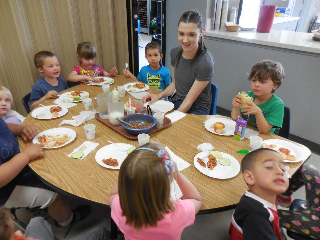 Child Care Lunch Menu