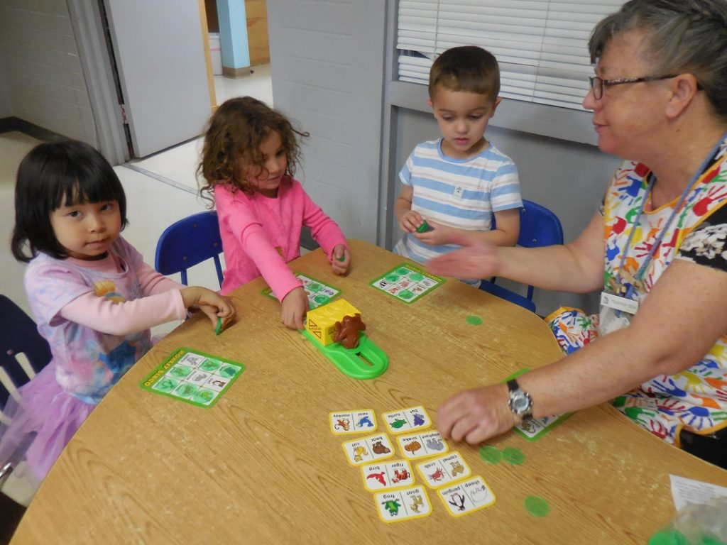 Reno Daycare activities, image of children playing games