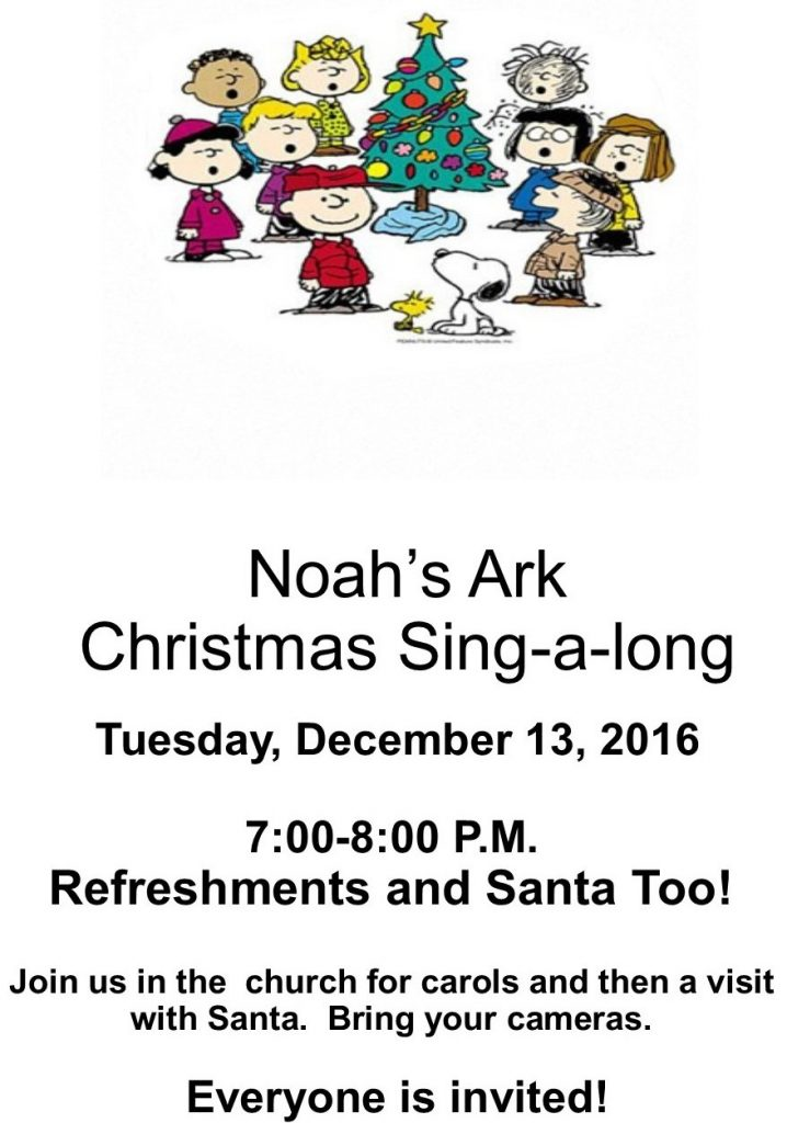 Noah's Ark 2016 Christmas Sing-a-long